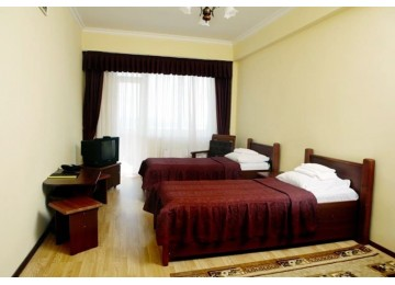 Стандарт 1-комнатный 2-местный с балконом вид на горы |Пансионат Горный воздух Лоо