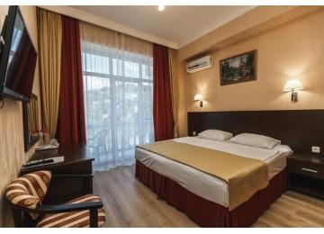 Стандарт 1-комнатный 2-местный с балконом вид на море|Пансионат Горный воздух Лоо